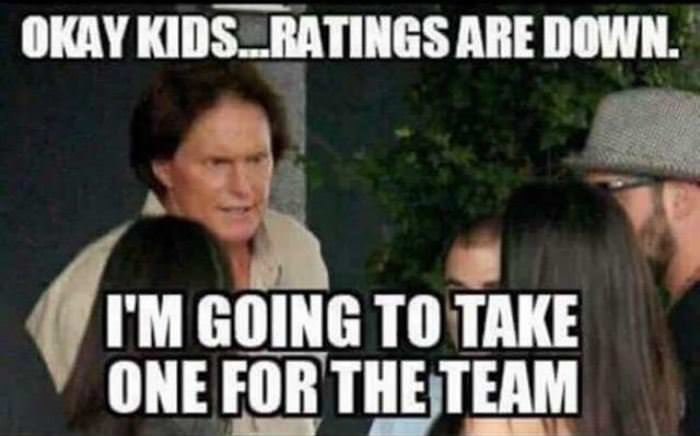 ratings are down funny picture