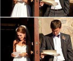 Reading A Love Letter funny picture