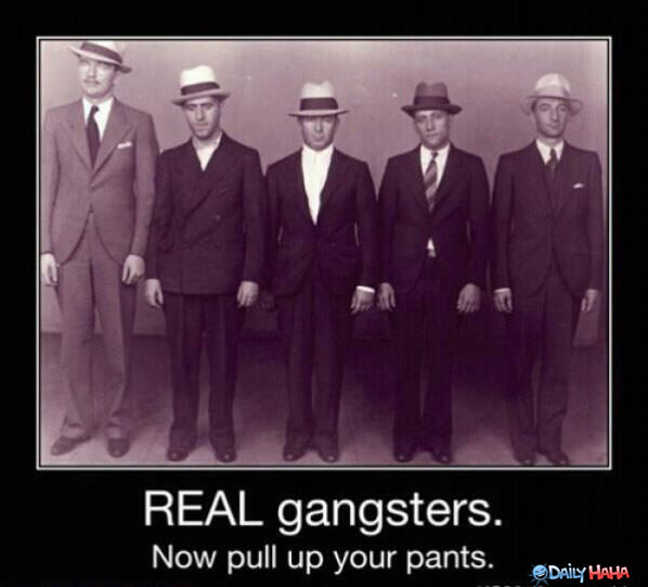 Real Gangsters funny picture