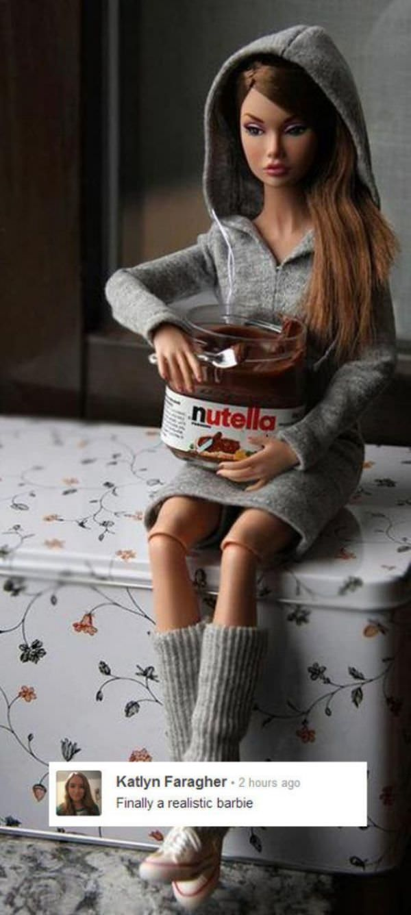 Realistic Barbie Doll funny picture