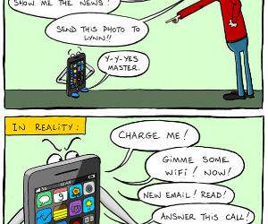 Phone Reality funny picture