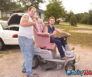 Redneck Style funny picture