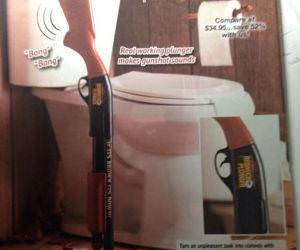 redneck plunger funny picture
