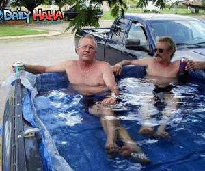 Redneck Swimming Truck