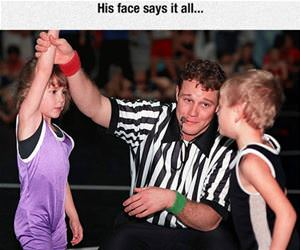 referees face says it all funny picture