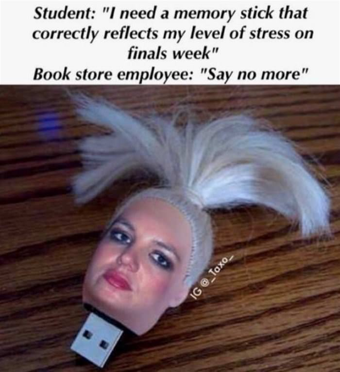 reflects my level of stress funny picture