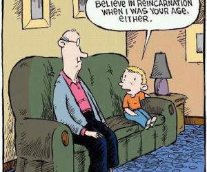 Reincarnation funny picture