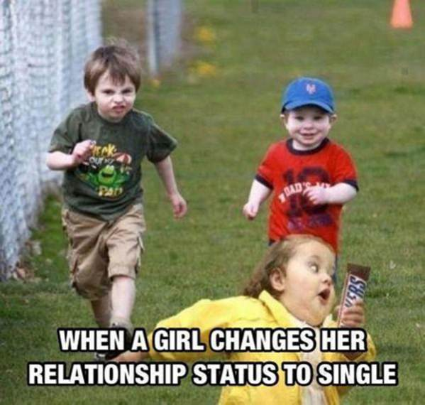 Her Relationship Status Changed funny picture