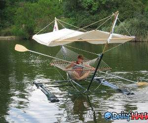 Relaxing Boat funny picture