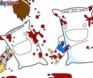 reverse Pillow Fight