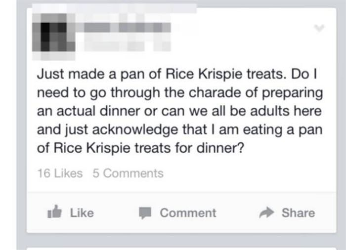 rice krispie treats funny picture