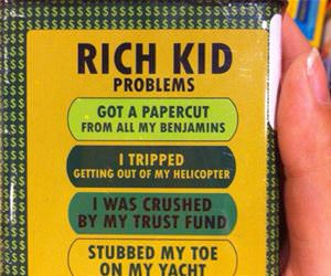 rich kid band aids funny picture