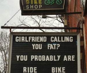 Ride A Bike funny picture