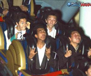 Roller Coaster Faces