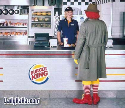 Ronald needs a whopper