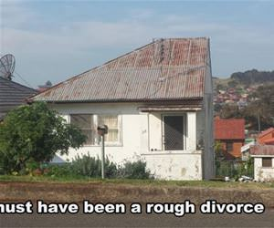 rough divorce funny picture