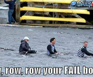 Row Your Failt Boat Funny Picture