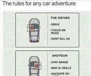 rules for road trips