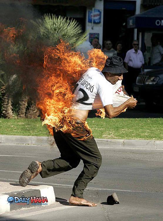 Running on Fire
