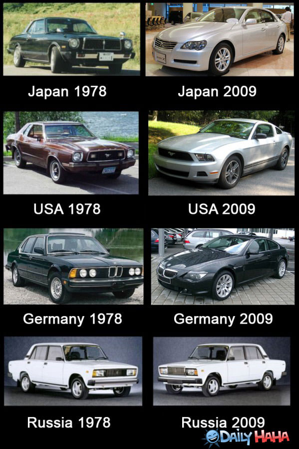 Russian Cars funny picture