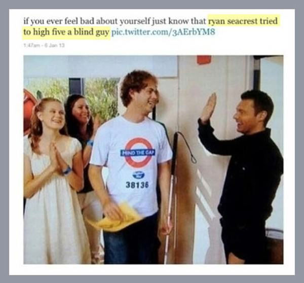 Ryan Seacrest funny picture