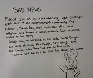 sad news funny picture