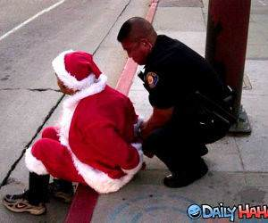 Santas Arrested Picture