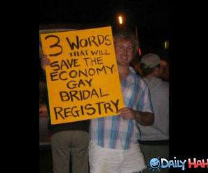 Save The Economy funny picture