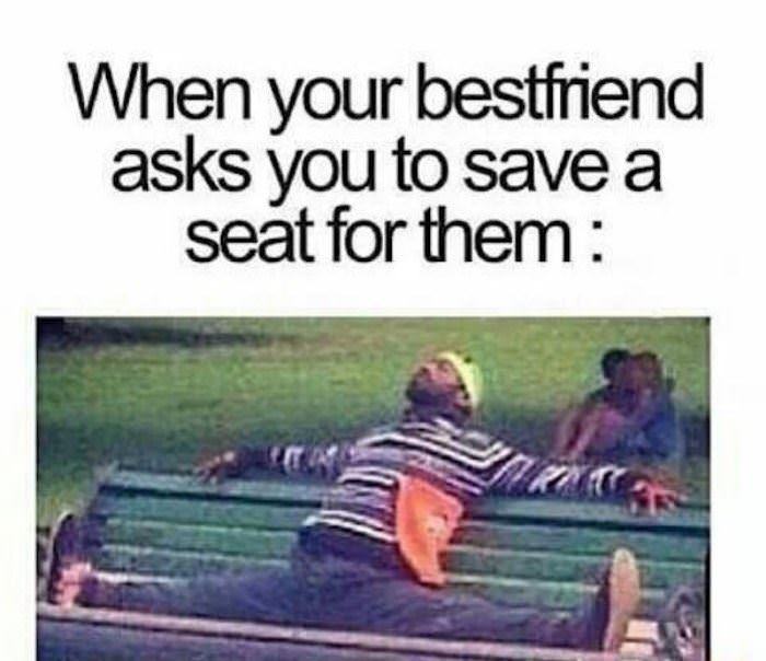 save me a seat funny picture