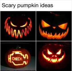 scary pumpkin ideas