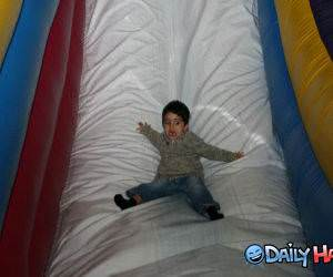 Scary Slide funny picture