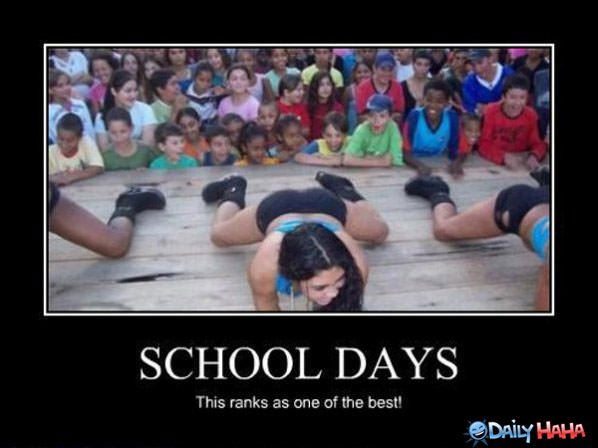 School Days funny picture
