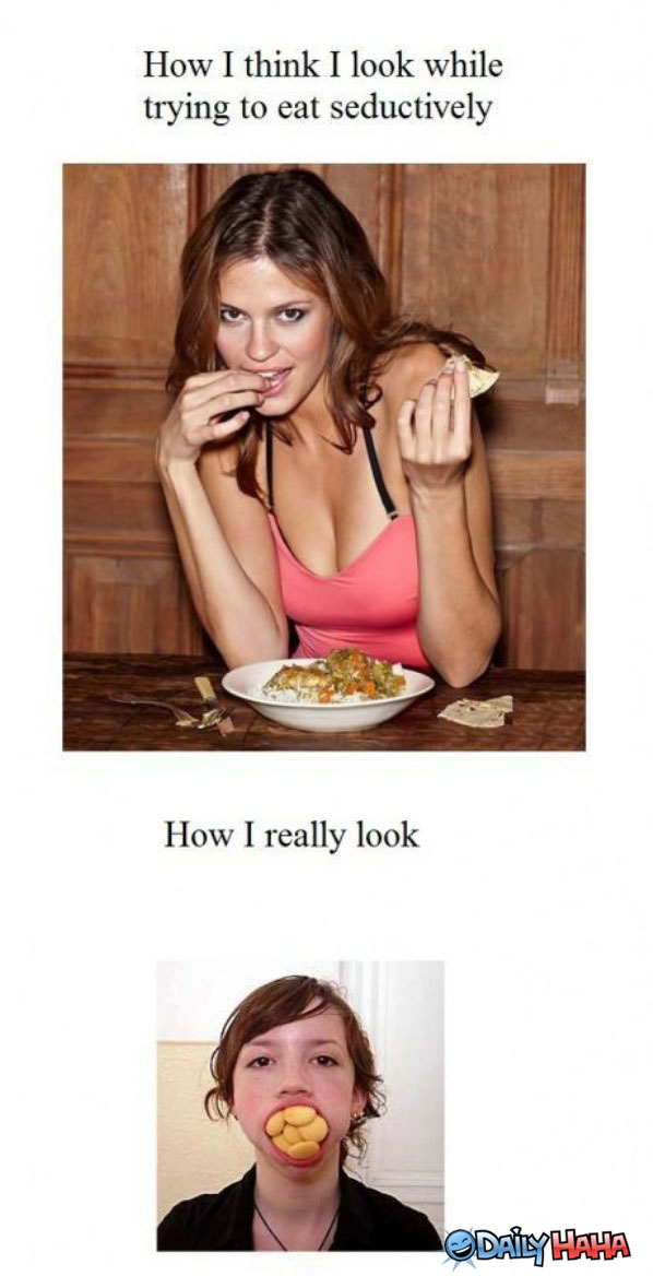 Seductive Eating funny picture