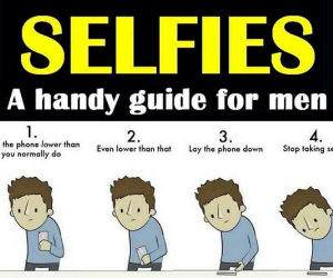 Selfies For Men funny picture
