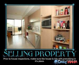 Selling Property funny picture