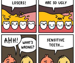 sensitive teeth funny picture