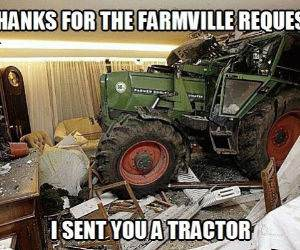 Serious About Farmville funny picture