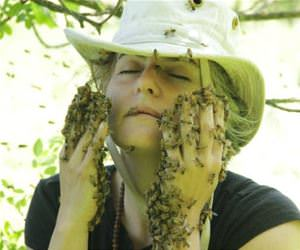 she loves bees funny picture