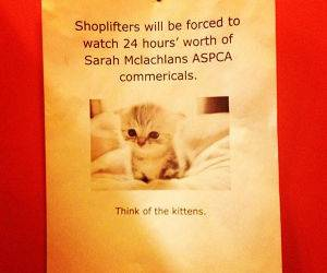 Shoplifters funny picture