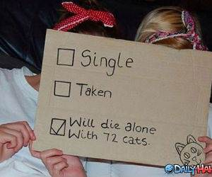 Single or Taken funny picture