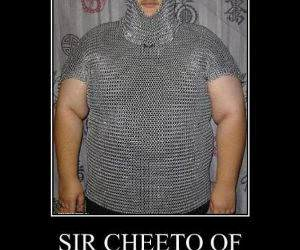 Sir Cheeto funny picture