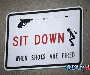 Sit Down funny picture