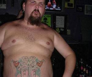 Six pack tattoo