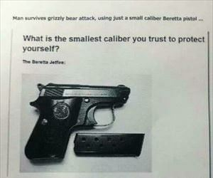 smallest caliber