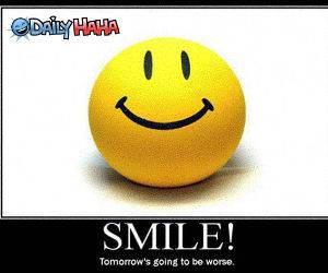 Smile funny picture