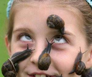 Snail Face Girl Picture