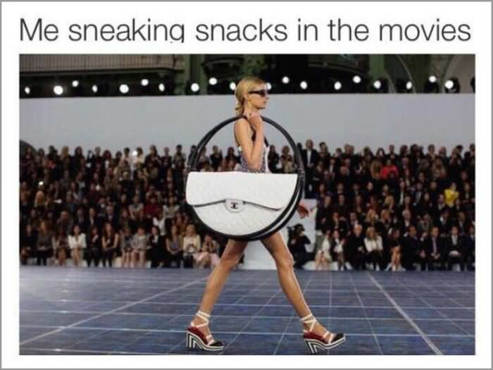 sneaking snacks in how it feels funny picture