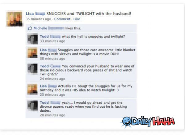 Snuggies funny picture