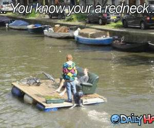Redneck Float funny picture