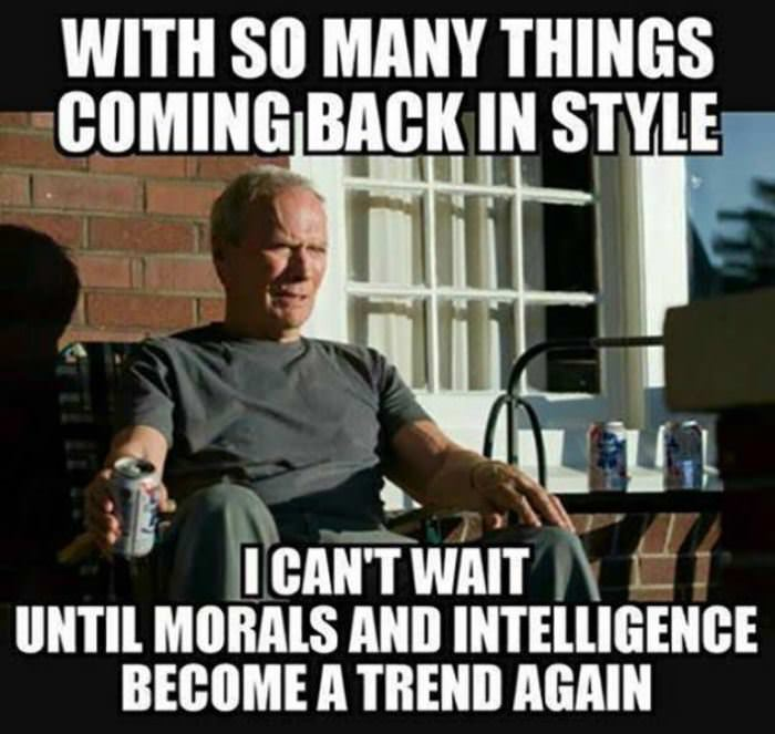 so many things coming back in style funny picture